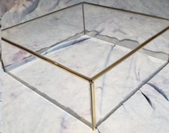 Rental store for Cake Stand - 18  Acrylic Gold Square in Greenville MS