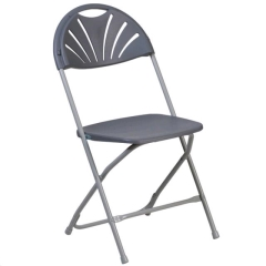 Rental store for Folding Chair - Neutral Fanback in Greenville MS