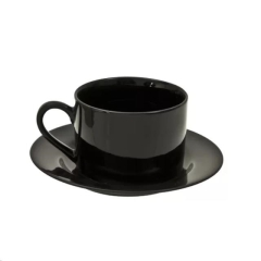 Used Equipment Sales Round Black - Coffee Cup   Saucer in Greenville MS