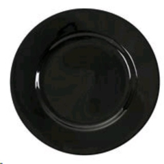Used Equipment Sales Round Black - Dinner Plate in Greenville MS